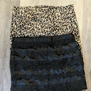 3 skirts by Forever 21 size large